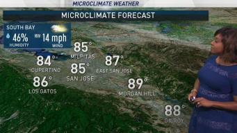 Kari's Forecast: Slightly Cooler Today