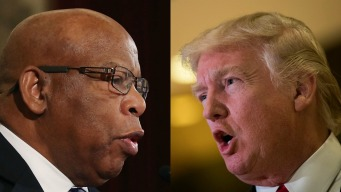 Trumps Sounds Off After Being Called Out by John Lewis