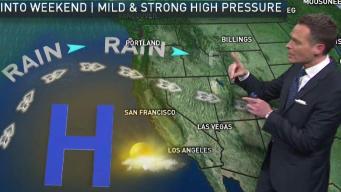 Jeff's Forecast: Lunar Event & Mild Ahead