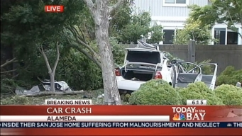 Alameda Car Crash, Six Teens Injured