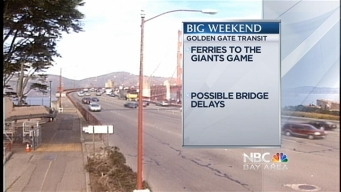 Transportation Tips: Bay's Big Weekend