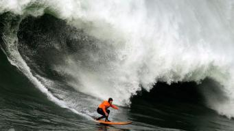Mavericks Surf Contest a No-Go for Tuesday
