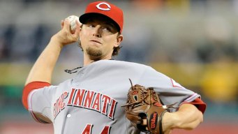 Mike Leake Starting Game 4, Cueto Done