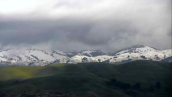 South Bay Snow! Powder Returns to Mt. Hamilton