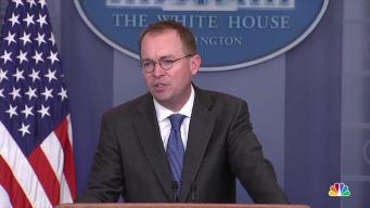 Budget Director Blames 'Schumer Shutdown' on DACA