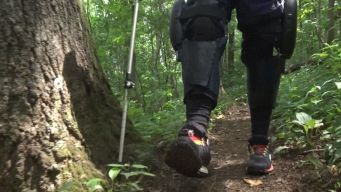Paralyzed Hiker Tackles Appalachian Trail After Car Accident