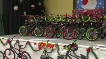Surprise! 80 South Bay Third-Graders Gifted with New Bikes