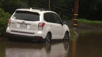 North Bay Storm: Overflowing Creeks Cause Flooding