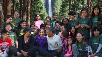 Obama Celebrates National Parks in Yosemite