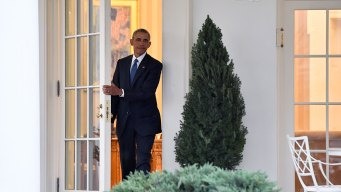 Obama's Final Moments in the Oval Office