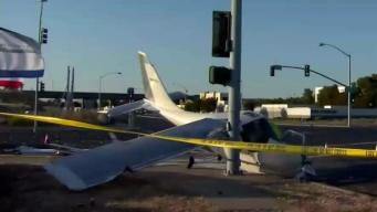 One Injured After Planes Goes Down in Concord