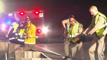 One Killed After Car Careens Off Highway 17 Near Los Gatos