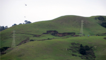 Crews Secure Transmission Tower Threatened by Mudslide