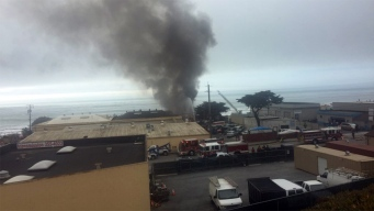 Firefighters Investigating 3-Alarm Fire at Red-Tagged Home in Pacifica