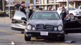 Police Car Chase Leads to a Hit-and-Run in Vallejo