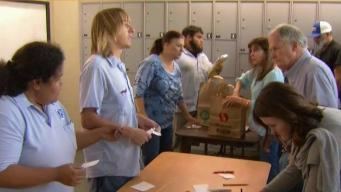Post Office Pickup Brings Fire Evacuees a Sense of Normal