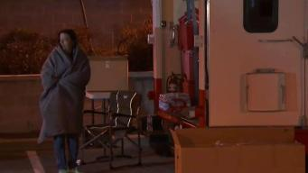 Bay Point Evacuees Spend the Night in BART Parking Lot