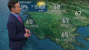 Rob's Forecast: Breezy With Spring Showers