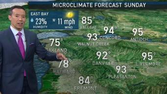 Rob's Forecast: Sunday Heat Before Cooling