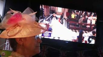 Locals Gather to Watch the Royal Wedding in San Jose