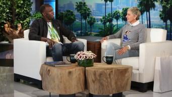 Usain Bolt Talks Marriage, Olympics on 'Ellen'