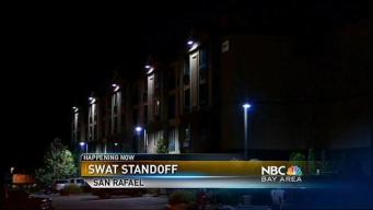 Police Standoff Enters 15th Hour in San Rafael