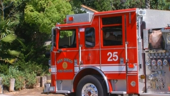 Two Fires Burn in Contra Costa County