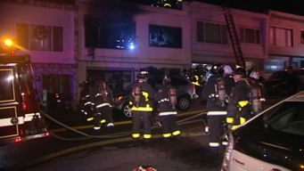 Fire in SF Injures Three, Including One Critically