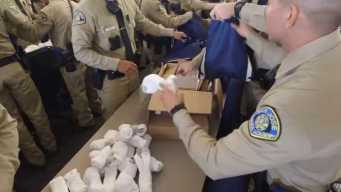 Helping the Homeless: SJ Police Hand Out Care Kits