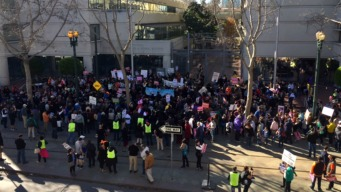 Peaceful Anti-Trump Rally in San Jose Fights for Immigrants, Refugees