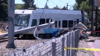 2 Dead After VTA Train, Car Collide in San Jose