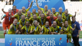 Sweden Beats England 2-1 to Take Third at Women's World Cup