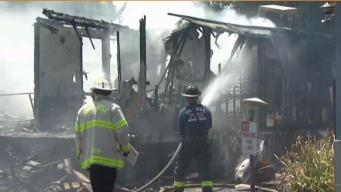 San Jose Firefighters Investigating Deadly Mobile Home Park Fire