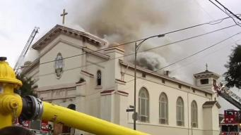 San Jose Rebuilding Burned Down Holy Cross Church