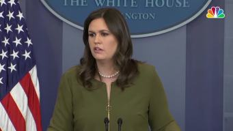 Sanders: Sam Nunberg's Comments on MSNBC Are 'Incorrect'