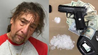 Meth, Replica Guns Found in Man's Vehicle in Santa Cruz