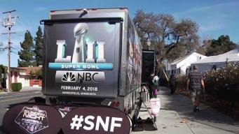Saturday Night Football Bus Makes a Stop in Walnut Creek