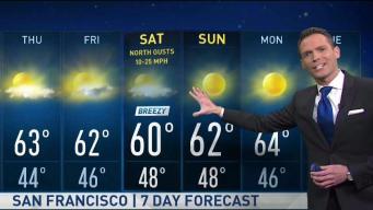 Jeff's Forecast: Hazy, Breezy & Shower Chance Ahead