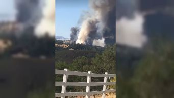 Snell Fire Forces Mandatory Evacuations in Napa County