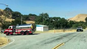 Brush Fire Burns in Between San Jose, Morgan Hill: Cal Fire