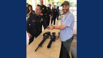 Bay Area Native Turns in AR-Style Rifles to Miami Police