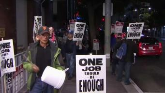 Mayor Breed Offers to Get Involved With Hotel Workers Strike