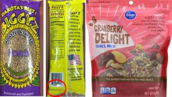Sunflower Seeds, Salad Toppers Recalled