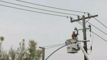 Sunnyvale Street Reopens After Pole Fire