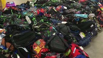 Man Hopes to Deliver Backpacks to Thousands in Need