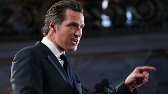 Newsom, Seeking Governor's Office, Now Backs High-Speed Rail