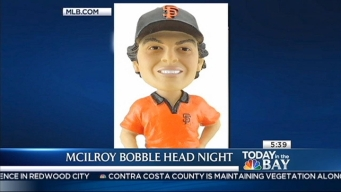 McIlroy Bobble Head Night At AT&T Park