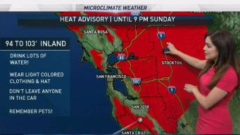 Today's Forecast: Heat Advisory in Effect