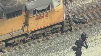 Train Hits, Injures Motorcyclist in Oakland