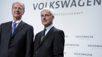 Small Number of Staff Behind Scandal: VW